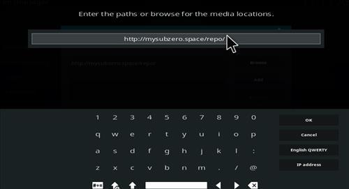 How to Install Subzero Kodi Add-on with Screenshots step 5