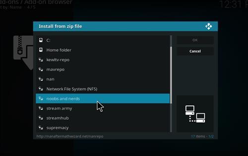 how to Install Bob Unleashed Kodi addon with screenshots step 11