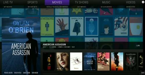Best Build Kodi Misfit Mode Lite pic 2
