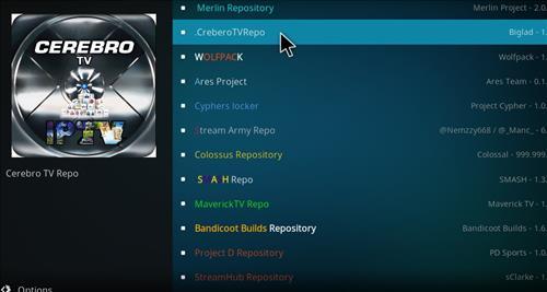 How to Install Cerebro Phoenix Kodi Add-on with Screenshots step 15