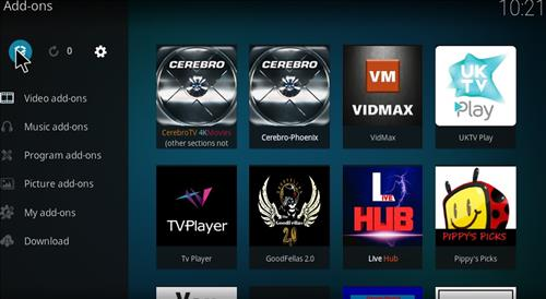 How to Install Cerebro Phoenix Kodi Add-on with Screenshots step 9