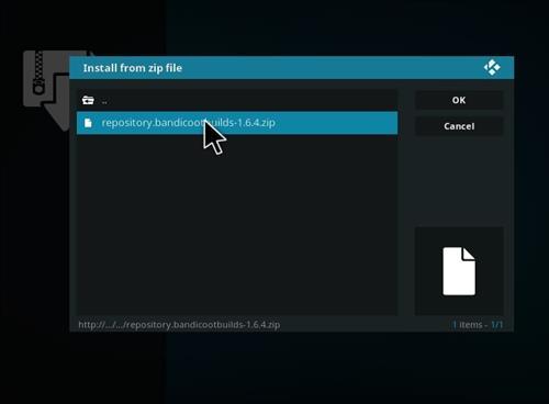 How to Install Crash K Kodi Build with Screenshots step 12