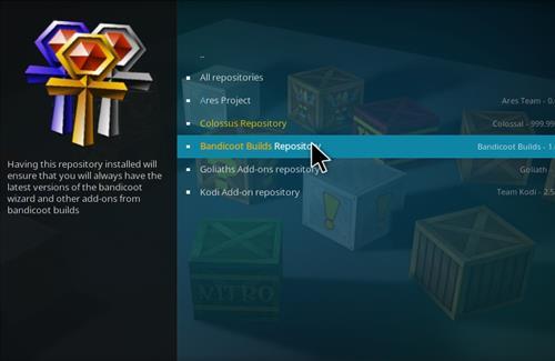 How to Install Crash K Kodi Build with Screenshots step 15