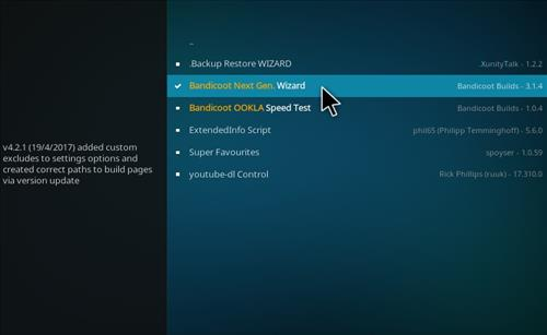 How to Install Crash K Kodi Build with Screenshots step 17