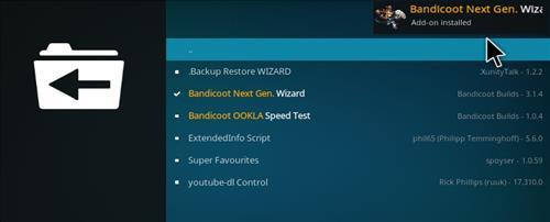 How to Install Crash K Kodi Build with Screenshots step 19