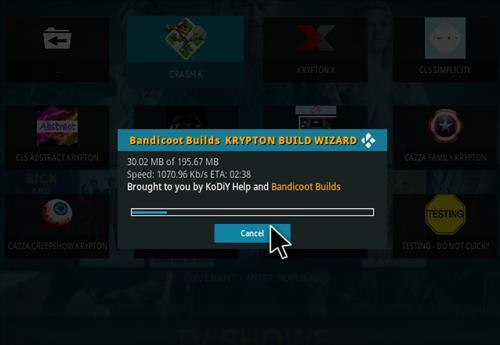 How to Install Crash K Kodi Build with Screenshots step 26
