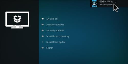 How to Install Eden Red kodi Build step 13
