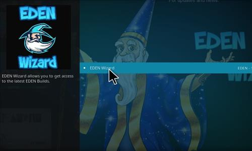 How to Install Eden Red kodi Build step 16