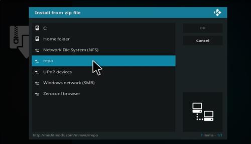How to Install Misfit Mod Lite Kodi Build with Screenshots step 11