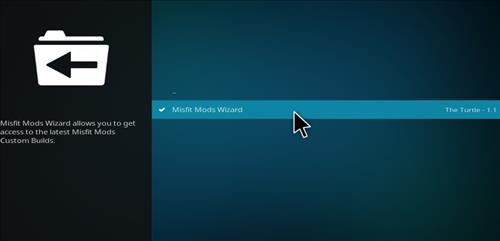 How to Install Misfit Mod Lite Kodi Build with Screenshots step 17
