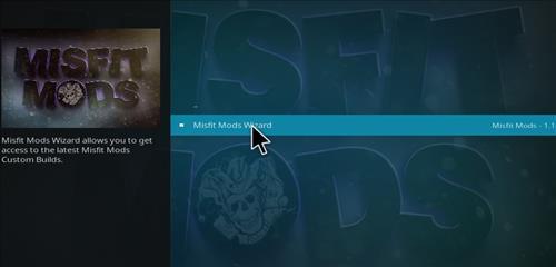 How to Install Misfit Mod Lite Kodi Build with Screenshots step 22