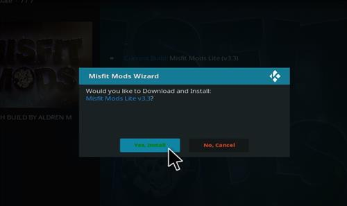 How to Install Misfit Mod Lite Kodi Build with Screenshots step 26