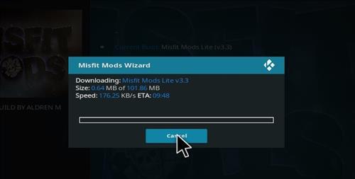 How to Install Misfit Mod Lite Kodi Build with Screenshots step 27