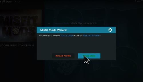 How to Install Misfit Mod Lite Kodi Build with Screenshots step 28