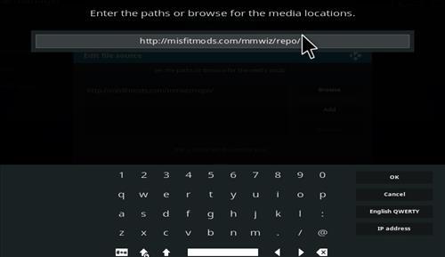 How to Install Misfit Mod Lite Kodi Build with Screenshots step 5