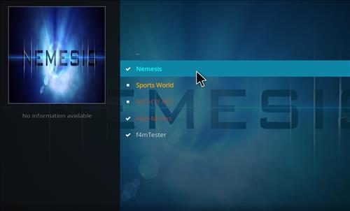 How to Install Nemesis Kodi Add-on with Screenshots step 17