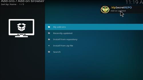 How to Install SecreTVVIP Kodi Add-on with Screenshots step 13