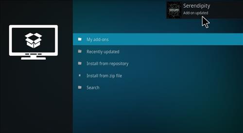 how to change add ons on kodi home screen