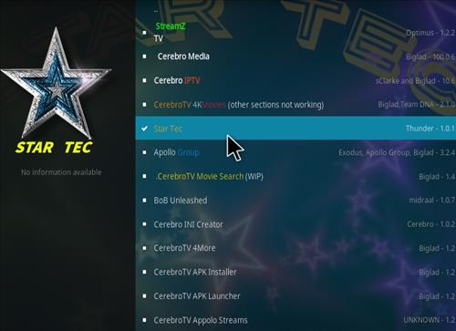 How to Install Star Tec Kodi Add-on with Screenshots step 17