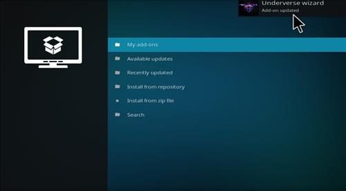 How to Install Underverse Kodi Build with Screenshots step 13