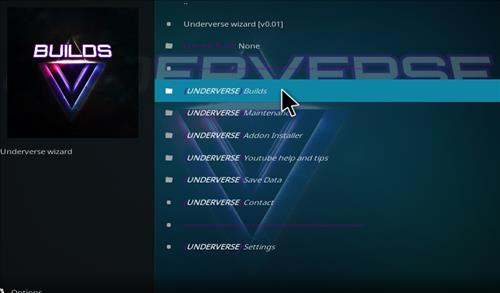 How to Install Underverse Kodi Build with Screenshots step 17