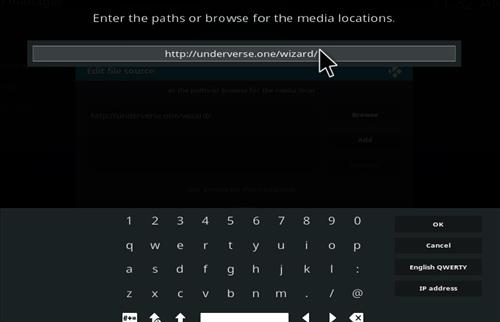 How to Install Underverse Kodi Build with Screenshots step 5