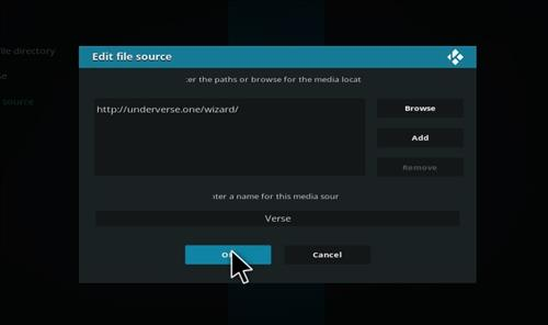 How to Install Underverse Kodi Build with Screenshots step 7