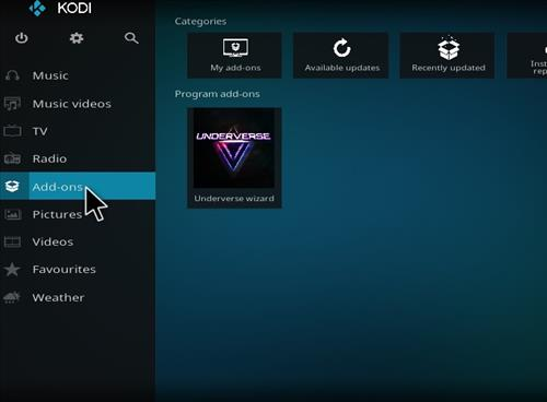 How to Install Underverse Kodi Build with Screenshots step 8