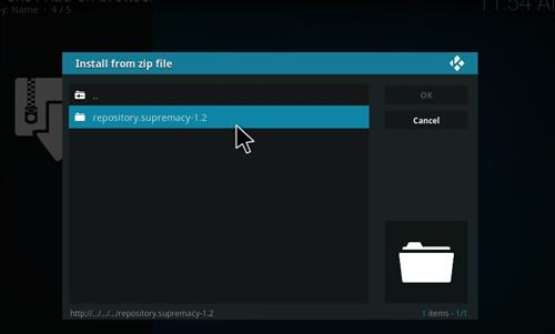 How to Install Atom Kodi Add-on with Screeshots step 12