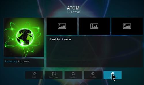 How to Install Atom Kodi Add-on with Screeshots step 19