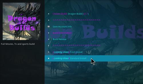 How to Install Dragon Build Kodi with Screenshots step 26