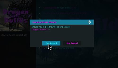 How to Install Dragon Build Kodi with Screenshots step 27