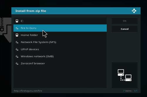 How to Install Fire TV Guru Builds Guide with Screenshots step 11