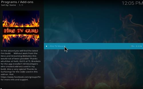 How to Install Fire TV Guru Builds Guide with Screenshots step 22