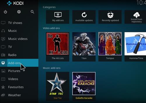 How to Install Hit Lists Kodi Add-on with Screenshots step 8