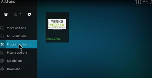 How to Install Perks Media Krypton Build with Screenshots step 15