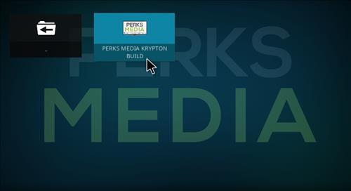 How to Install Perks Media Krypton Build with Screenshots step 16