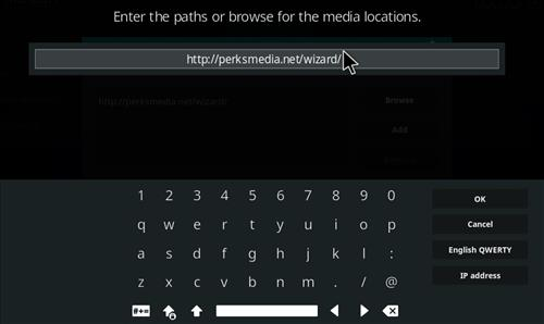 How to Install Perks Media Krypton Build with Screenshots step 5