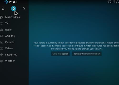 How to Install Rebirth Kodi Add-on with Screenshots step 1