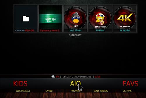 new Kodi Builds SG Elite pic 2