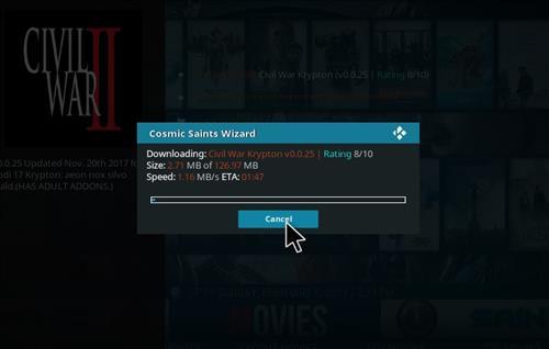 How to Install Civil War Kodi Build with Screenshots step 21