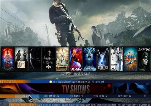 How to Install Cosmic Saints 4K Kodi Build with Screenshots pic 3