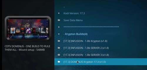 How to Install Dominus Kodi Build with Screenshots step 17