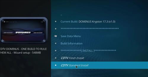 How to Install Dominus Kodi Build with Screenshots step 18