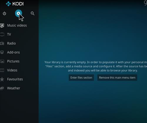 How to Install Enzo Kodi Add-on with Sreenshots step 1