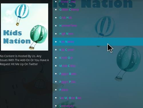 How to Install Kids Nation Kodi Add-on with Screenshots step 17