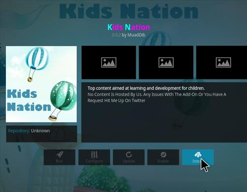 How to Install Kids Nation Kodi Add-on with Screenshots step 18