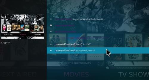 How to Install Krypton Media Build with Screenshots step 19