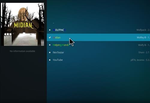 How to Install Midian Kodi Add-on with Screenshots step 17