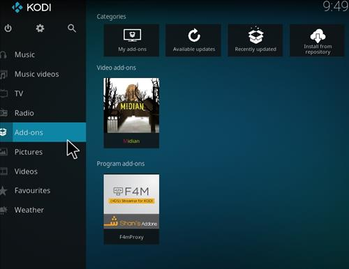 How to Install Midian Kodi Add-on with Screenshots step 8